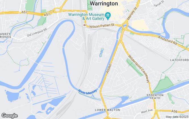 Map for Morgan Williams Commercial LLP, Warrington