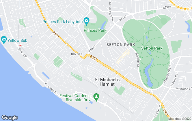Map for Beech Property Management, Liverpool