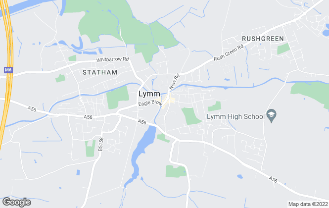 Map for Gascoigne Halman, Lymm