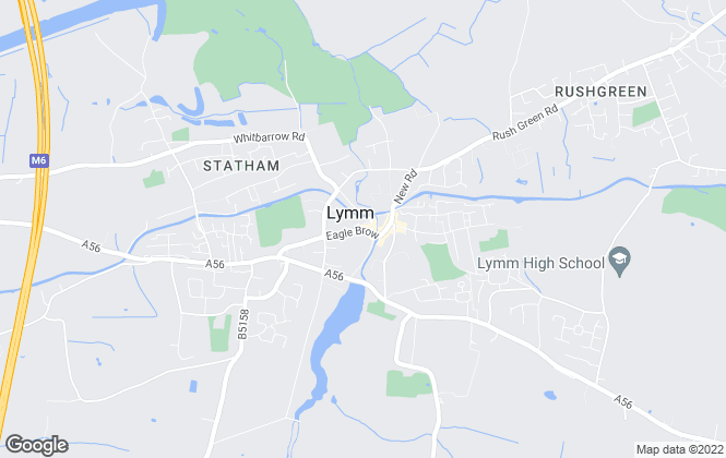 Map for Bridgewater Estates & Lettings, Lymm