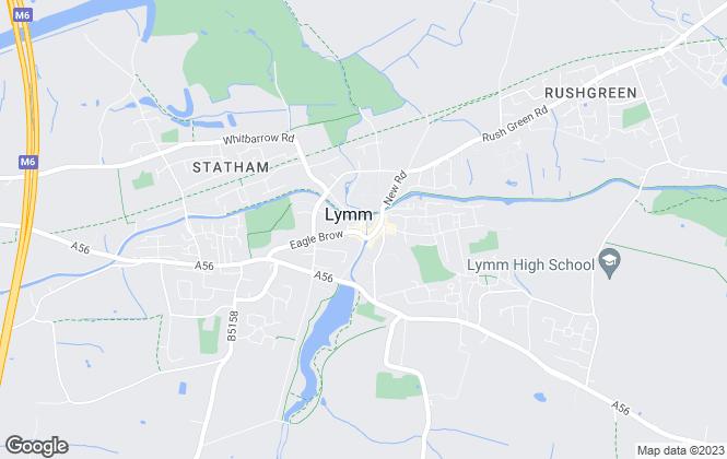 Map for Bridgfords, Lymm