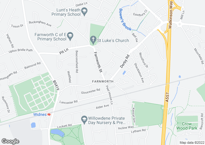 Map for Farnworth Street