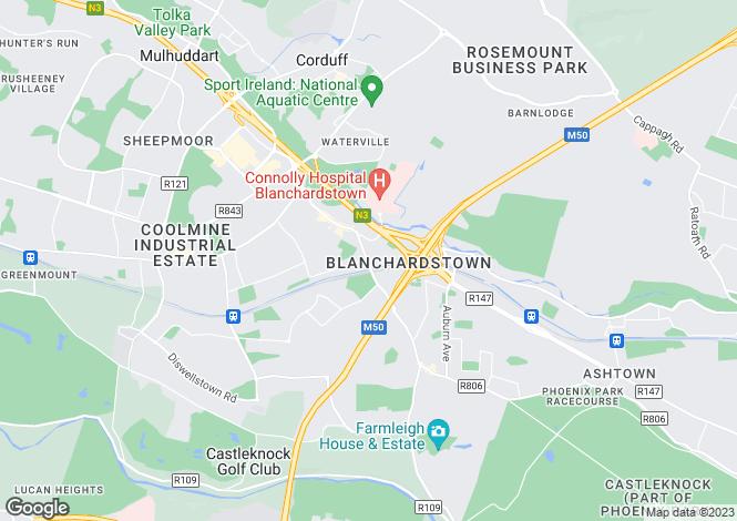 Map for 66 Castleknock Road, Castleknock, Dublin 15