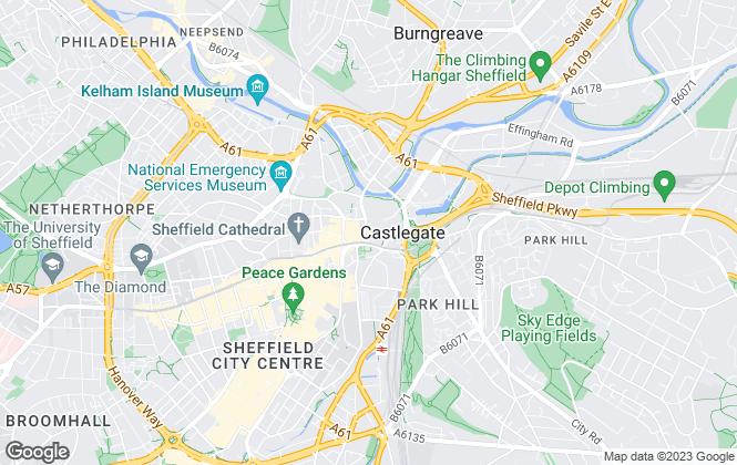 Map for Leaworks Ltd, Sheffield