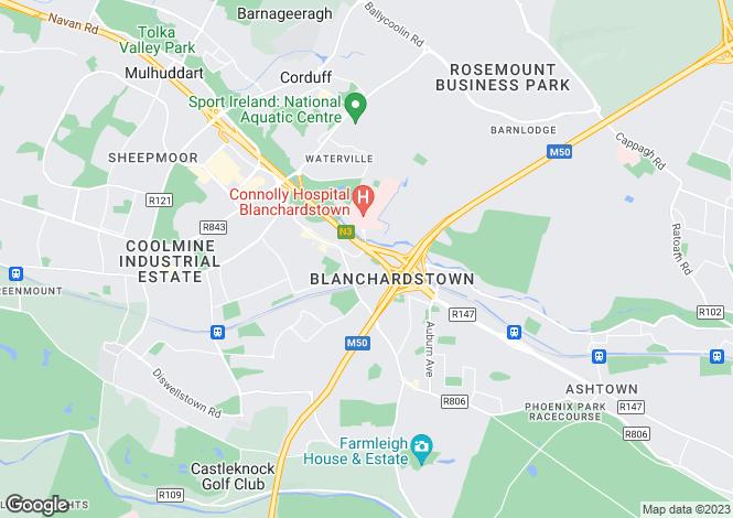 Map for 16 Talbot Court, Castleknock, Dublin 15, D15 CFP2