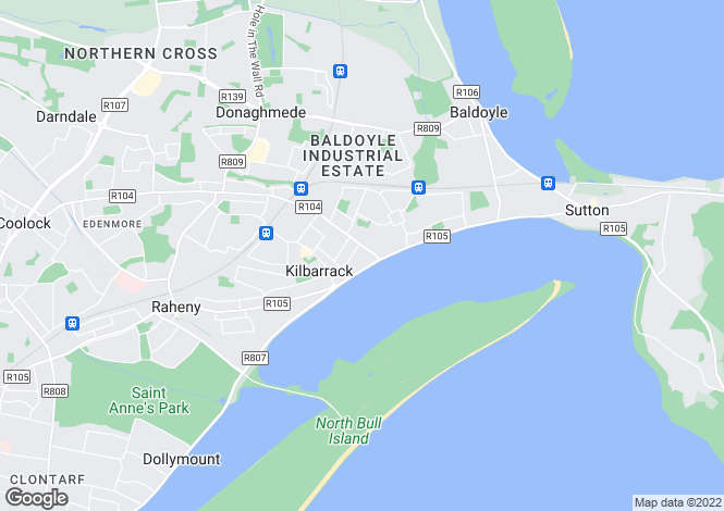 Map for Apt 6, Island View, Harbour Road, Howth, Co Dublin, D13 C7F2