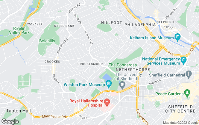 Map for Alexander Estates & letting Agents Ltd , Sheffield
