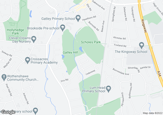Map for Firswood Mount, Gatley, Cheadle, Greater Manchester