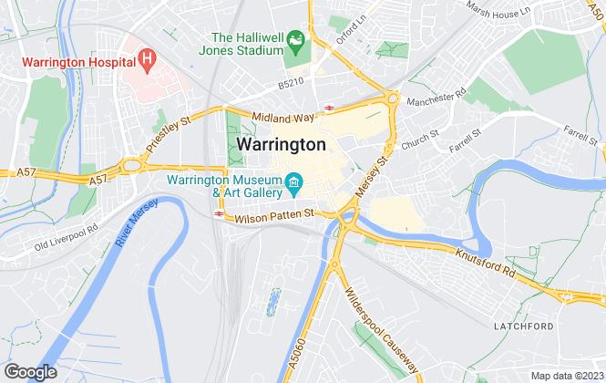 Map for Adamson Lettings & Property Management Ltd , Warrington