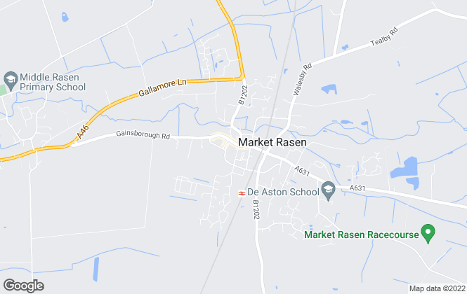 Map for Walter's, Market Rasen