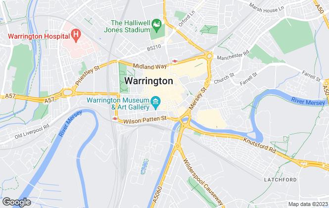Map for ImmediLet, Warrington