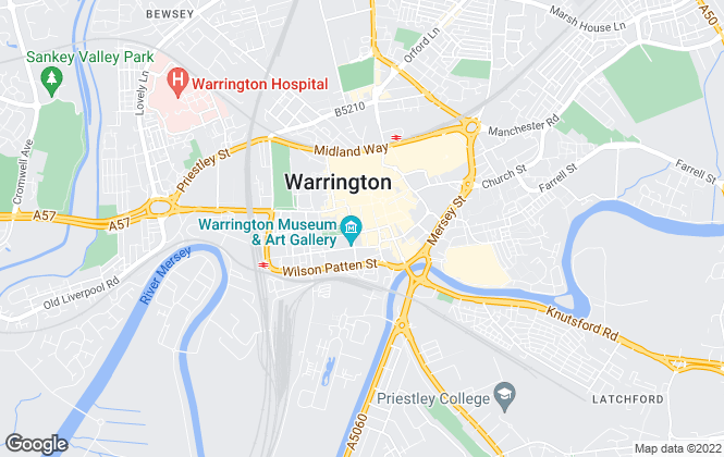 Map for Fastmove Properties Ltd, Warrington
