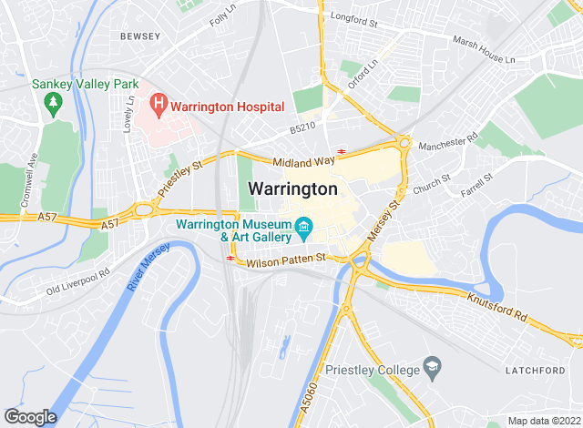Map for Entwistle Green, Warrington Lettings