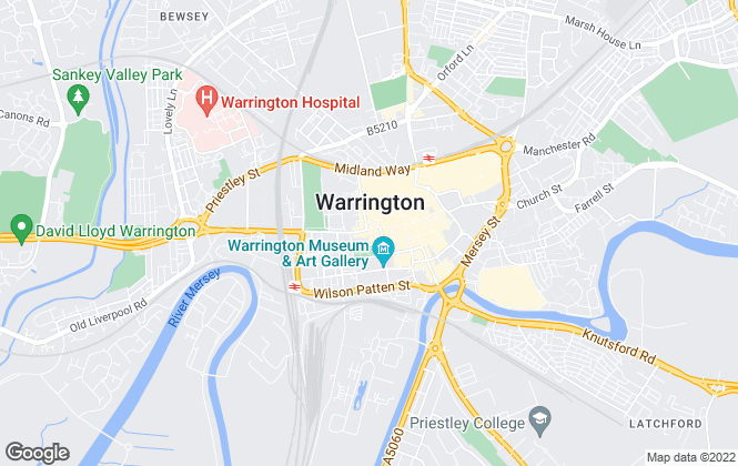 Map for Entwistle Green, Warrington
