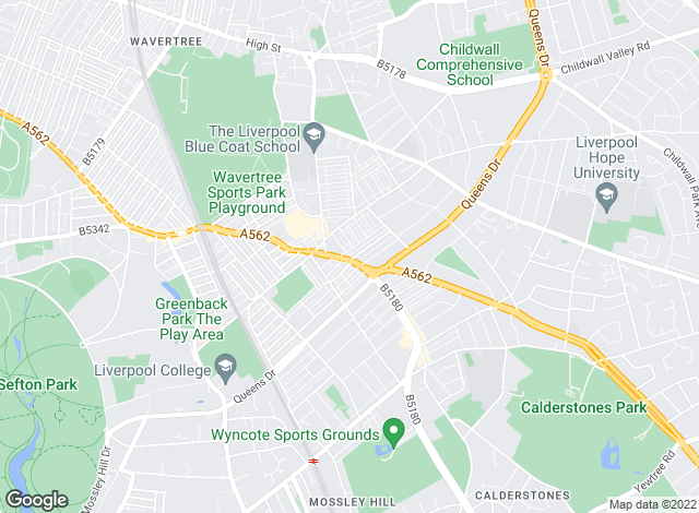 Map for Move Residential, Mossley Hill - Lettings