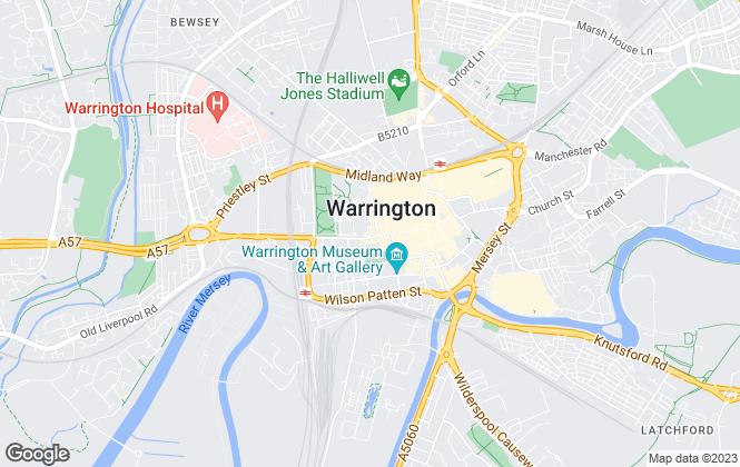 Map for Leaders, Warrington