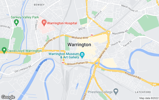 Map for Edwards Grounds, Warrington - Lettings