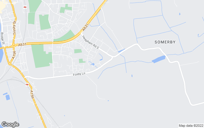 Map for Lawrence James, Scunthorpe