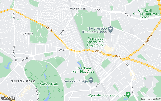 Map for Rooms4u, Liverpool