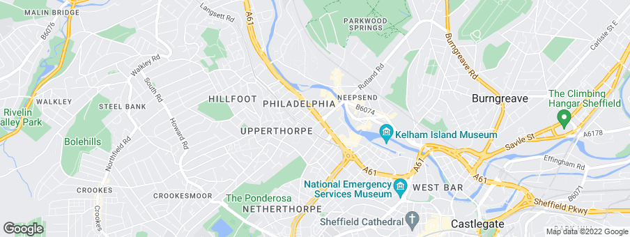 Map for S Harrison Developments Ltd