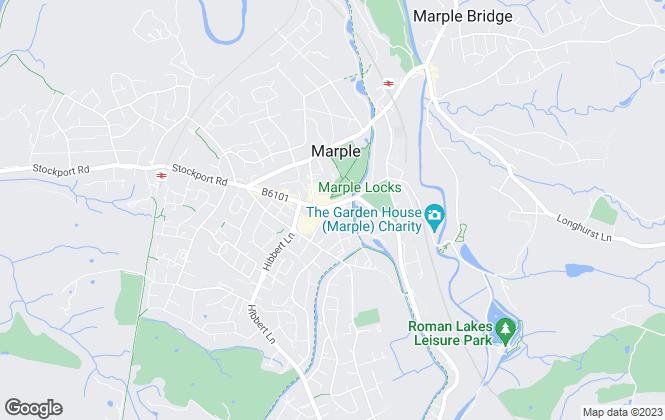 Map for Bridgfords, Marple