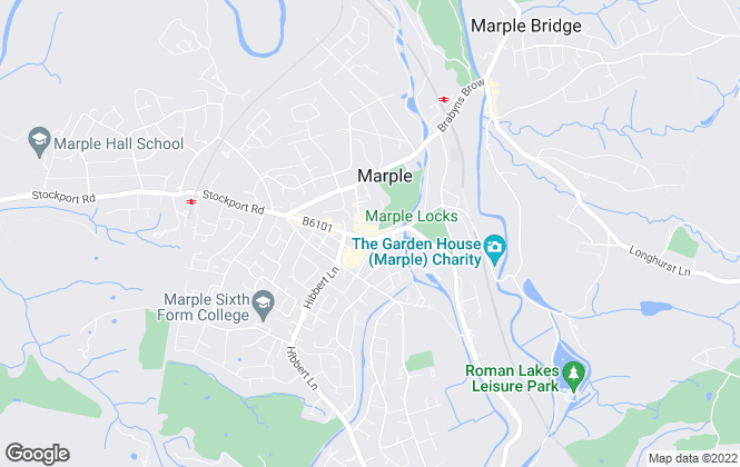 Map for Julian Wadden, Marple