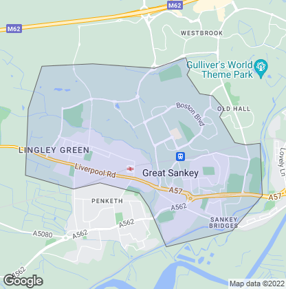 Map of property in Great Sankey