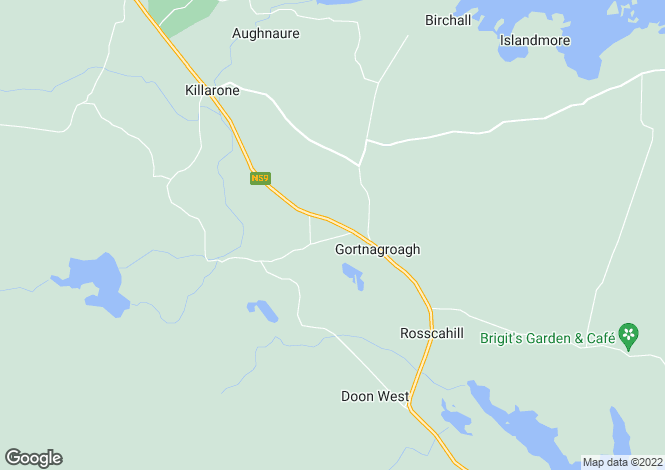 Map for `LUISNE`, KILLOLA, ROSSCAHILL, CO. GALWAY. H91 CK7H