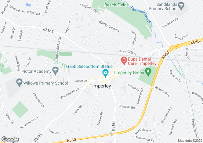 Map for Mayfair Court
