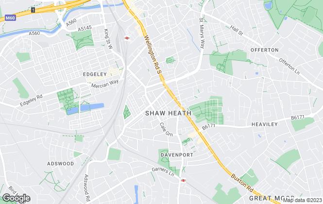 Map for Stephen Wilson, Cheshire