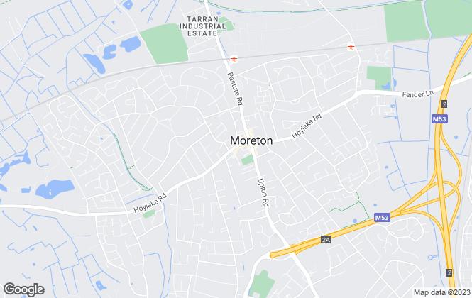 Map for Andrew's Estates, Moreton