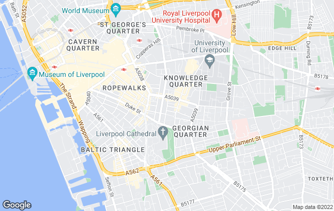Map for House SL Ltd, Liverpool