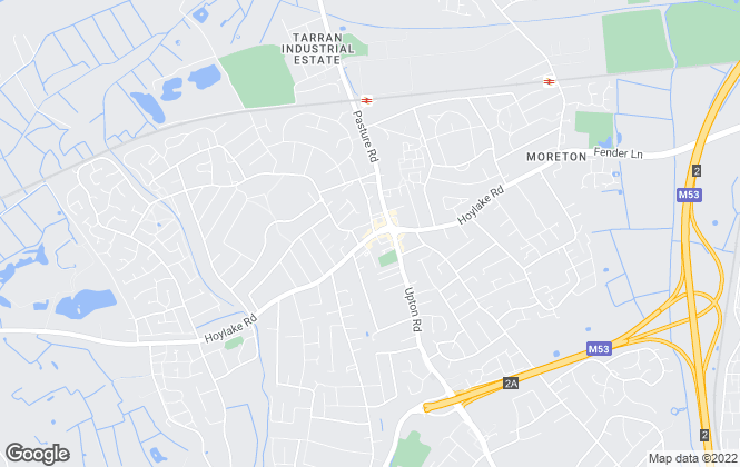 Map for Jones & Chapman, Moreton