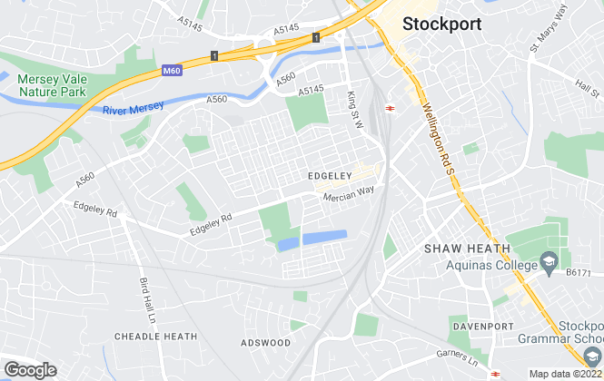 Map for Edward Mellor Ltd, Edgeley