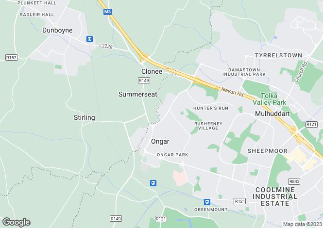 Map for 9 Beechfield Heights, Castaheany, Clonee, Dublin 15