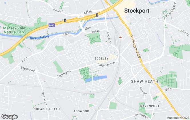 Map for Snowden Wilkinson, Edgeley