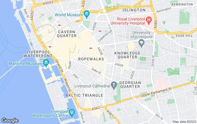 Map for Urban Splash, Tea Factory
