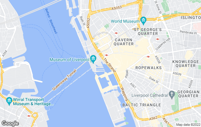 Map for Browns & Co Property, Liverpool