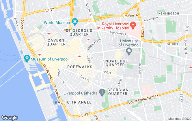 Map for accommod8 - Student Rentals, Liverpool