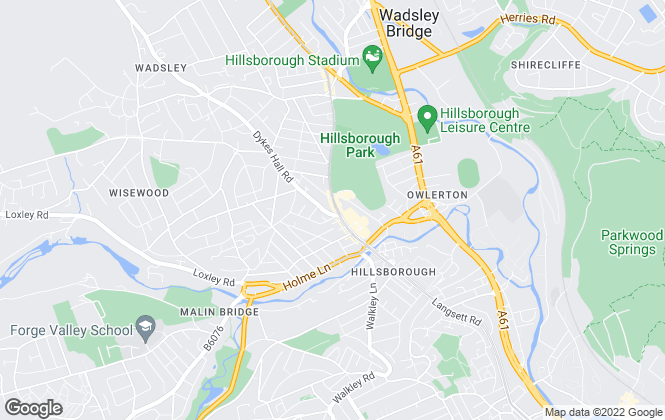 Map for MorfittSmith, Sheffield