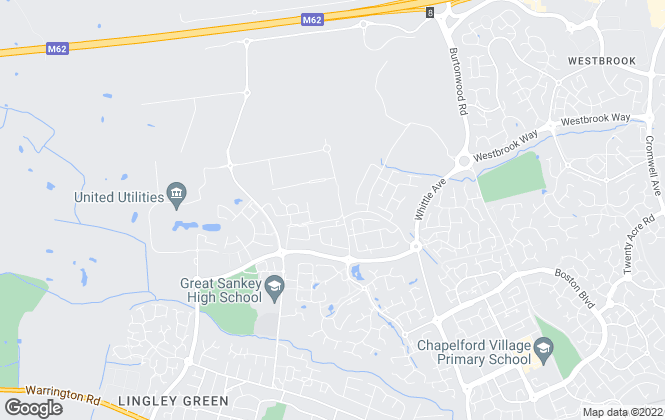Map for Castle Green