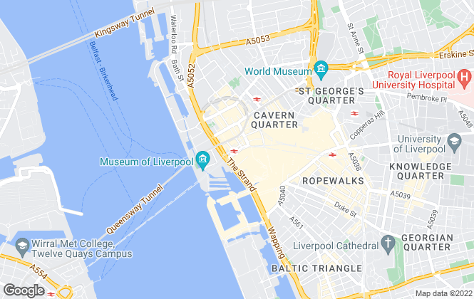 Map for Mason Partners LLP (Retail), Liverpool