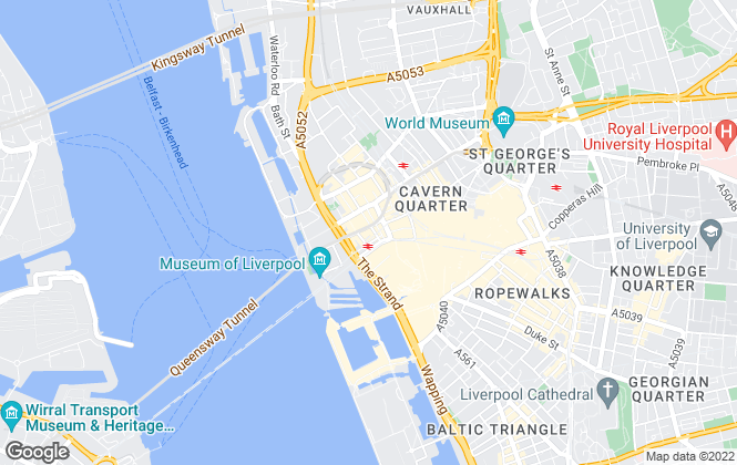 Map for Mason Partners LLP (Business Space), Liverpool