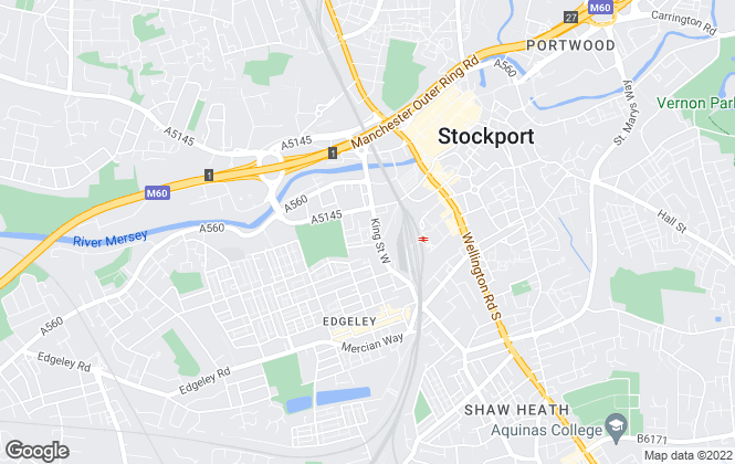 Map for Citiplanners, Bolton