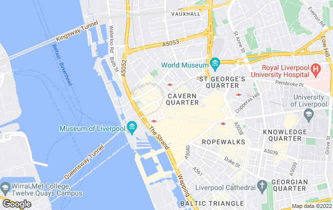 Map for MASON OWEN & PARTNERS (Office/Industrial), Liverpool