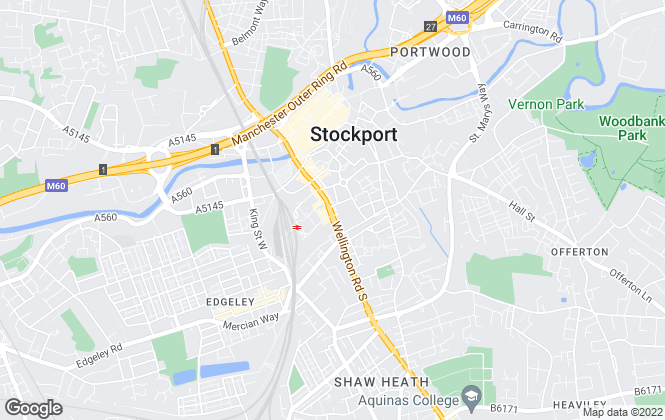 Map for Buckley Commercial, Stockport