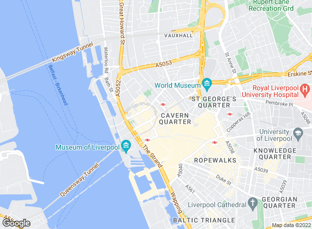 Map for Venmore, Liverpool