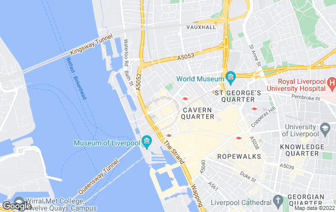 Map for DEEDS-Property Services Ltd, Liverpool