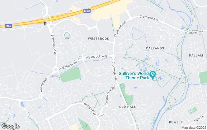 Map for Halton Kelly Independent Property Services, Warrington - Westbrook Centre