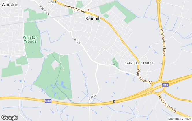 Map for Paladin Property, Rainhill